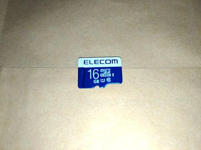 ELECOM Micro SD(16GB)
